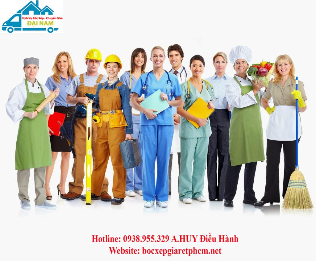 Cung ứng lao động các ngành nghề giá rẻ tại Tphcm