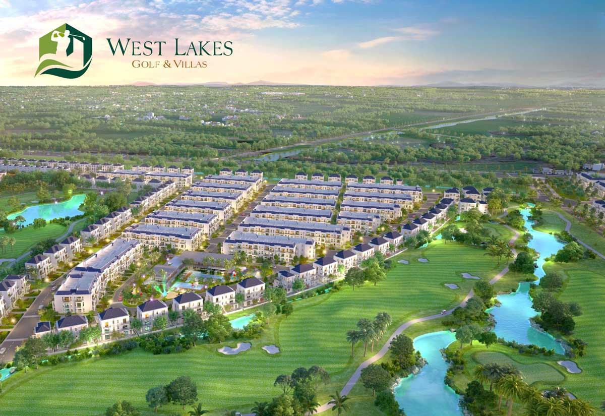 Điều khiến dự án biệt thự sân golf West Lakes Golf & Villas thu hút nhà đầu tư