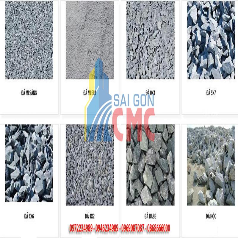 Giá đá xây dựng đa dạng kích thước