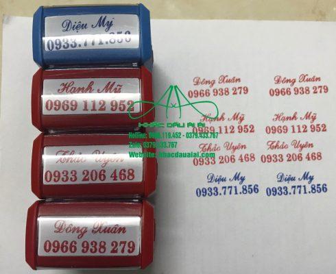 Nhận làm con dấu tên online giá rẻ, giao tận nơi nhanh chóng
